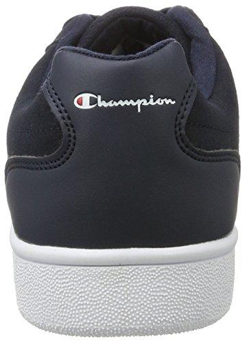 Champion 1980suede, Scarpe da Ginnastica Basse Uomo Blu (Nbk - Navyblau)