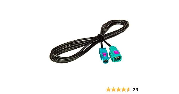 Tomzz Audio 1600 012 Fakra Antennen Verlängerung 2m Elektronik