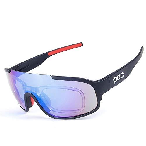 TIANOKLN Polarisierte Outdoor-Sport-Reitbrille, Fahrrad polarisierte Sport-Sonnenbrille, a1