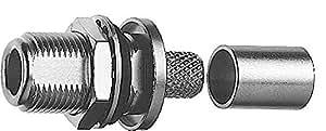TELEGÄRTNER Câble N femelle encastrable j01021a0060à sertir RG de 213/U à sertir/à sertir connecteur coaxial 4018359111625
