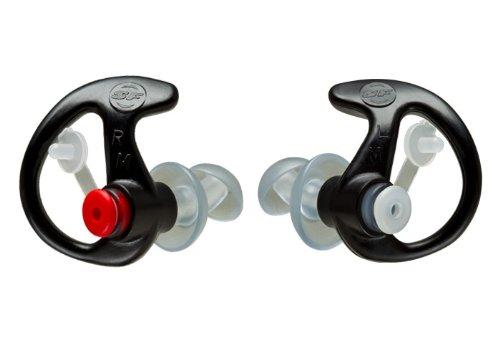 SureFire EarPro EP3 Medium - Sonic Defenders -- Safety Product of the Year - Hypoallergenic - Made in USA EP3-MPR Medium Pair - Motorola Surveillance Kit