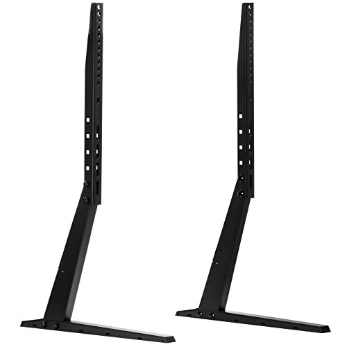 """deleyCON Universal TV Ständer 37""""-70"""" Zoll (94-178cm) 35Kg Standfuss Standfuß Fernseher-Tisch Halterung Höhenverstellbar Fernseh-Stand bis VESA 600x400"""