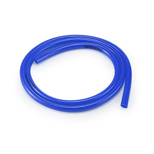 Winbang Benzinschlauch, 1 m, Motorrad, Benzinschlauch, 5 mm I/D 8 mm O/D Zubehör, Blau