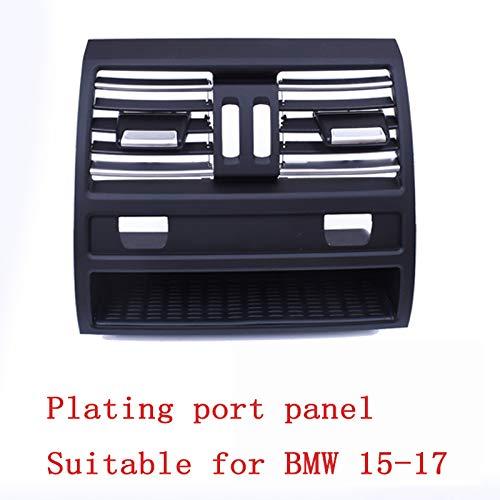 HJKSHS Kühlergrill für Fahrzeugklimatisierung für Kompatibilität mit BMW 5er Linkslenker F10 F18 LHD Auspuff,Rear2
