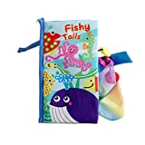 Fantasyworld Early Education Zhiyi Toy 3D Animal Tail Ring Paper Baby Cloth Book