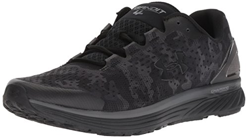 Under Armour Charged Bandit 4 Gr, Scarpe Running Uomo, Nero Graphite/Black 001, 43 EU