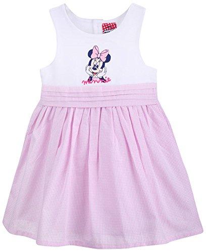 (Disney Classics Baby-Mädchen Kleid 71018, Mehrfarbig (Weiß/Rosa 832), 92)