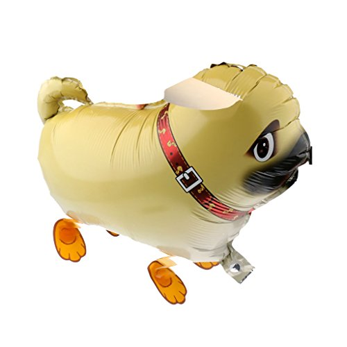 Gehen PET Folie Shari Haustierballon Tier Helium Airwalker Kinder Kuchen Hundespielzeug