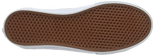 Vans  Style 36 Slim, Baskets mode pour homme Blanc - White (Leather Tc - Brindle)