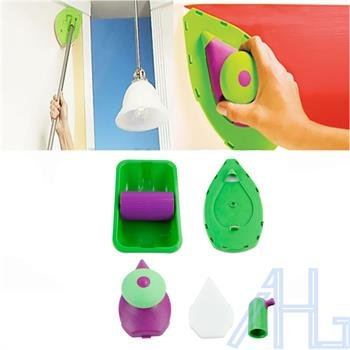 set-4-point-paint-pad-painting-roller-tray-sponge-kit-brush-home-wall-decor-tool