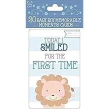 30 tarjetas de memoria para bebé, recuerdo de la primera fecha, memorable de la
