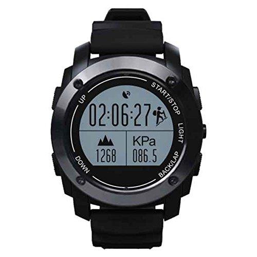 2017Neue Version-Sport Smart Watch, all-in-1Bluetooth Smart Watch, 1,5Zoll IPS-Touchscreen, GPS-Ortung, Fitness, vier Arten von Übung, intelligente Tracking für Android 4.3IOS 8.0oder (Tool Invicta-band)