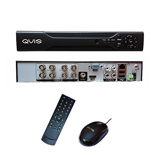 4 CANAL QVIS CCTV DVR 4 CH FULL D1 GRABADOR DE VIDEO DIGITAL DE HDMI SIN DISCO DURO