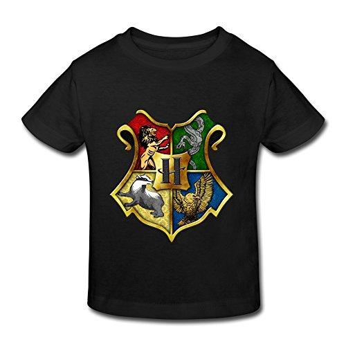 Aopo Harry Potter - Camiseta unisex logo Hogwarts