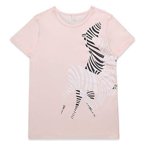 ESPRIT KIDS Mädchen T-Shirt SS T-Shirt, per Pack Rosa (Blush 310), 170 (Herstellergröße: XL)