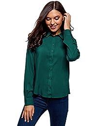 Damen Hem Top Bodycon Langarm Oberteil Stricken Blusen Henley T-Shirt Basic Top