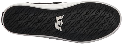 Supra Cuba, Sneakers Basses Mixte Adulte Noir - Schwarz (BLACK - WHITE 002)
