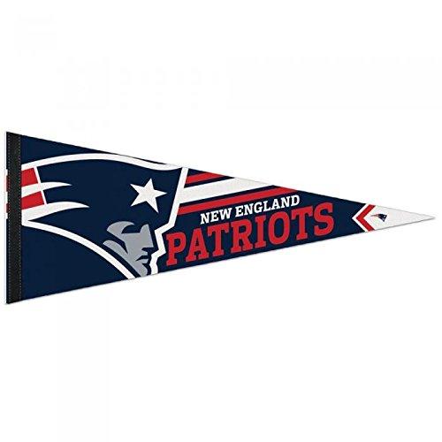 (WinCraft New England Patriots Big Logo Premium Football NFL Wimpel)