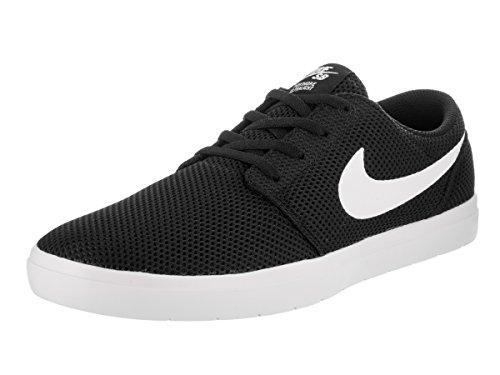 Nike Nike SB Portmore II Ultralight–Scarpe da Skateboard Nero/Bianco