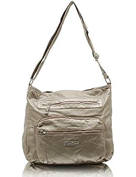 Jennifer Jones 3994 Handtasche Damen Damentasche Henkeltasche Schultertasche Tasche