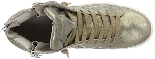Produttore Di Scarpe Da Kennel E Schmenger 51-19550.535 Signore Sneaker Multicolore (peltro / Argento Suola Bianca)
