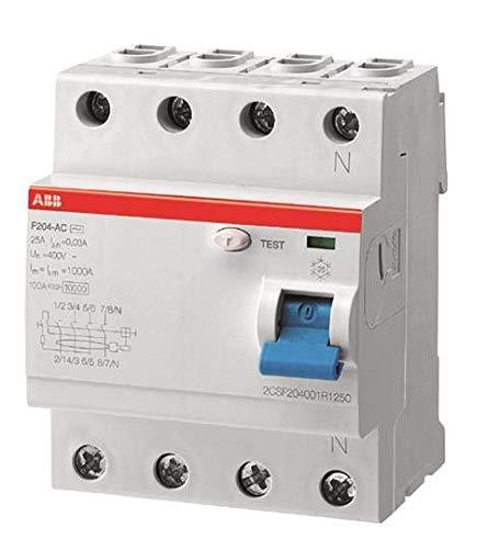 ABB Stotz S&J FI-Schutzschalter F204A-63/0,03L pro M Compact System pro M compact Fehlerstrom-Schutzschalter 8012542820307
