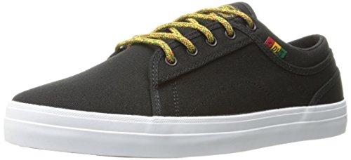 Dvs - Aversa, Scarpe Da Skateboard da uomo Black/Rasta