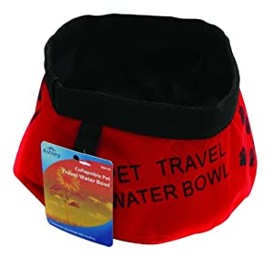 Collapsible Dog / Pet Travel, Portable Water Bowl. from Ashley