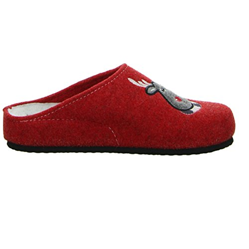 TOFEE , Chaussons pour femme Rouge