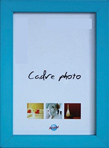 Cadre photo en résine bleu 13*19