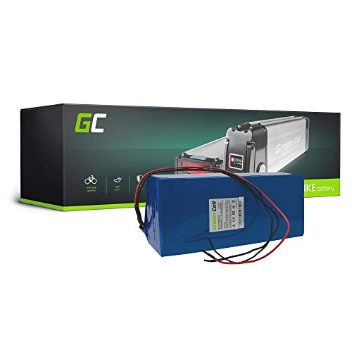 Green Cell EBIKE 48V 17.4Ah Batteria Battery Pack Pedelec con Celle Panasonic Li-Ion Bicicletta Elettrica per Kalkhoff BMC Diamant Giant Scoot