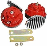 [Spedizione gratuita 7~12 giorni] macchina universale di alta bassa frequenza lumaca impermeabile tromba d'aria 12 // Universal Car High-Low Frequency Waterproof Snail Air Horn 12V