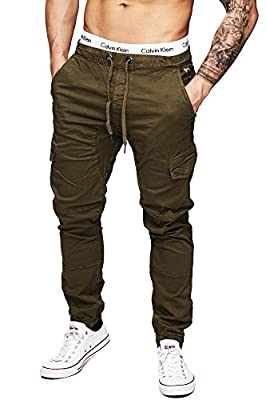 INDICODE Men's Cargo Pants 5851 Vintage Mountain Airborne Cargo Trousers Army Chinos Ranger Pants Mens Chino Jeans S M L XL XXL