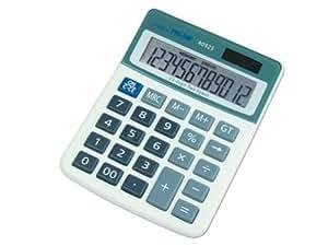 Milan 40925BL Blister Calculatrice Electronique 12 chiffres (5 couleurs disponibles)