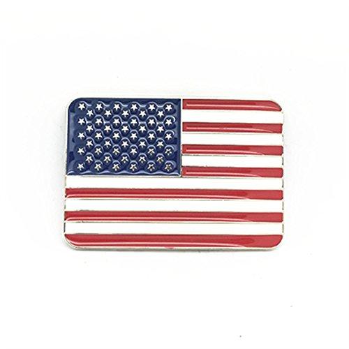 KeCol Gürtelschnalle für Herren und Erwachsene, amerikanische Flagge, Adler - Mehrfarbig - Einheitsgröße -