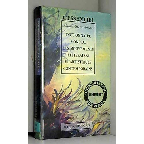 Dictionnaires mondial des mouvements litteraires