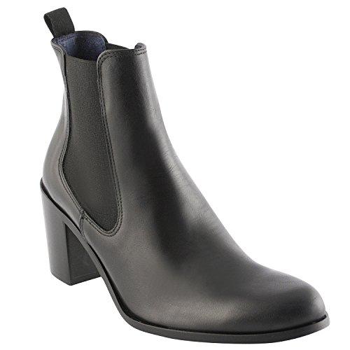 Exclusif Paris  Exclusif Paris Erika, Chaussures femme Bottines femme,  Damen Stiefel & Stiefeletten Schwarz - Schwarz