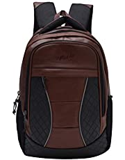 F Gear President 32 Ltrs Brown Laptop Backpack (2550)