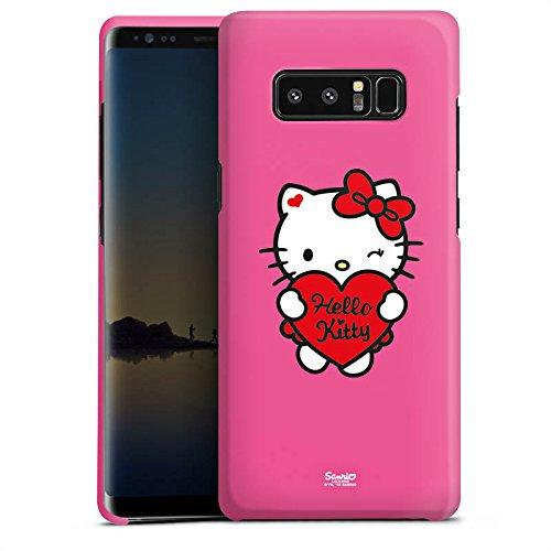 DeinDesign Samsung Galaxy Note 8 Hülle Premium Case Cover Hello Kitty Merchandise Fanartikel Sweet Heart - Hello Kitty Case Cover