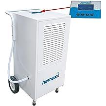 Nemaxx BT25 / BT55 / BT55X / BT80 / BT120 Deshumidificadores-Secadores-Condensadores de diferentes capacidades (desde 25 litros a 120 litros por día), Modèle:BT80 (80 litres / jour)