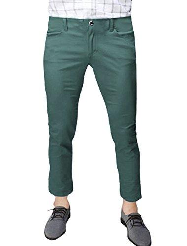 sourcingmap Hommes Taille Moyenne Poches En Biais Décontracté Pantalons Courts Gris
