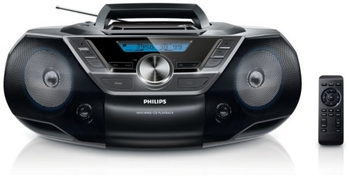 Philips AZ 780/12 /Radio-réveil Lecteur CD MP3 Port USB