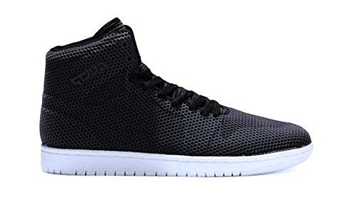 Herren Sportschuhe High Top Sneakers Basketball Freizeit Schuhe 1-1 Schwarz