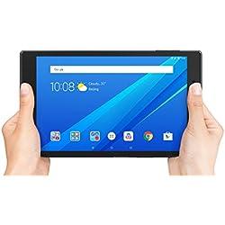 Lenovo TAB 4 8' HD tablette tactile Noire (Processeur Qualcomm APQ8017 4Coeurs, 2Go de RAM, 16Go de stockage, Android 7.1)