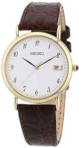 Seiko - SKK700P1 - Montre Homme - Quartz Analogique - Bracelet Cuir Marron
