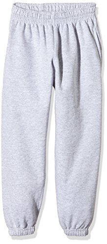 Fruit Of The Loom SS031B Pantaloni Sportivi, Bambino, Grigio (Heather Grey),  12/13 Anni (...