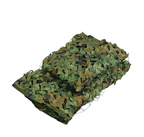 DYFYMXParasol Filet de camouflage jungle filet de camouflage de défense aérienne (Couleur : A, taille : 3 * 3m)
