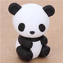 Ty Iwako Puzzle Borrador Negro y Blanco Bamboo Panda