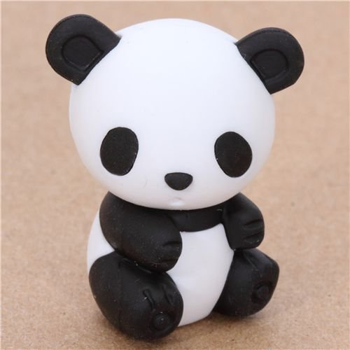 Ty Iwako Puzzle Radiergummi Black & White Bamboo Panda
