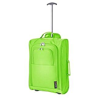 5Cities IATA Trolley Cabina bolsa equipaje de mano, 54cm, 42L, verde